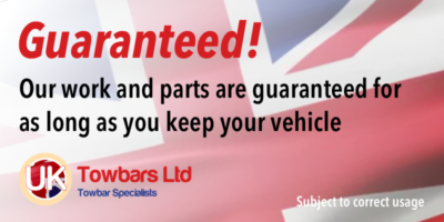 All our towbars are guaranteed