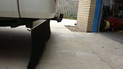 Motorhome Brush Skirts